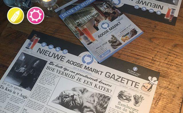 Horeca drukwerk – Aogse Markt