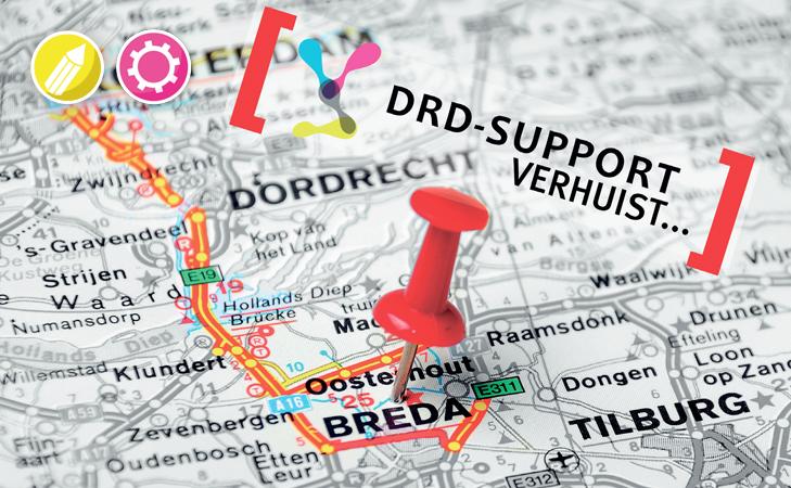 DRD Support verhuist