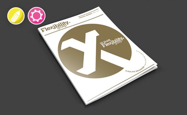 Magazine –  10 Jaar Flexibility Groep
