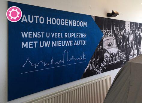 Inrichting en Aankleding Showroom – Auto Hoogenboom