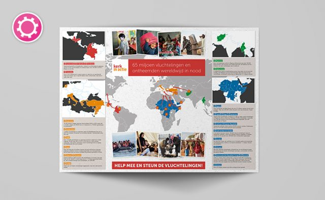 Landkaart – Ladenius in opdracht voor PKN