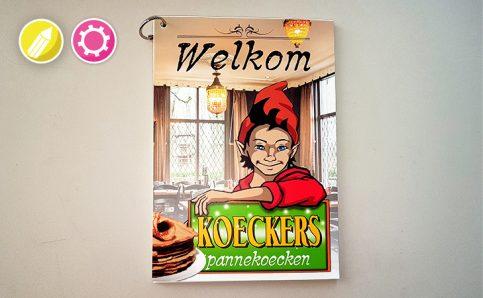 Koeckers Menukaart