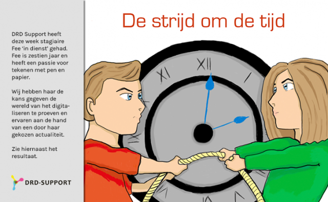 Stagiaire bij DRD Support