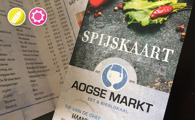 Menukaart – Aogse Markt