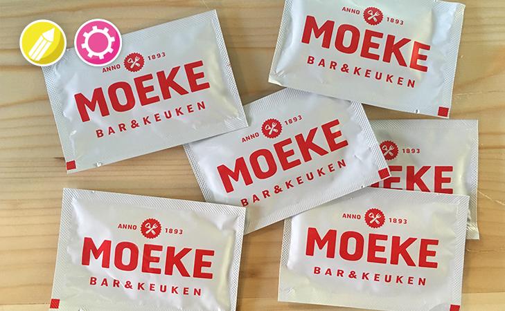 Verfrissingsdoekjes met logo
