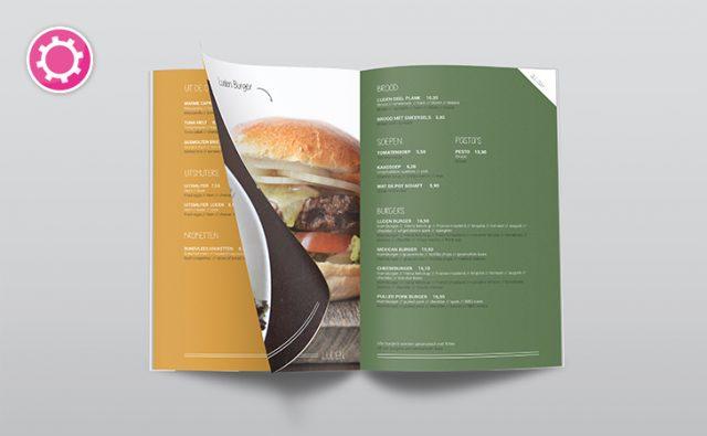 Nieuwe menukaart – Luden Amsterdam