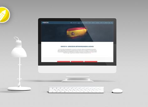 COVID-19 campagne en webpagina – Gimbrere